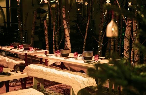 La Fôret enchantée au Buddah Bar Hotel Paris 1