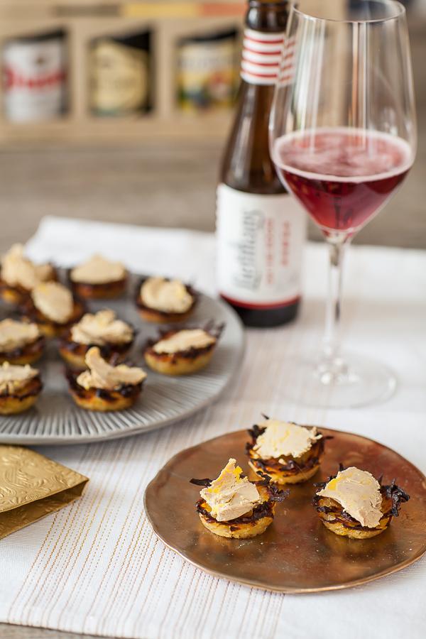 Panierde Pompadour au foie gras 1 ©AnneDemay