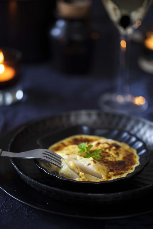 Saint-Jacques en sabayon de moutarde truffée les St Jacques, les choisir, les cuisiner ©panierdesaison
