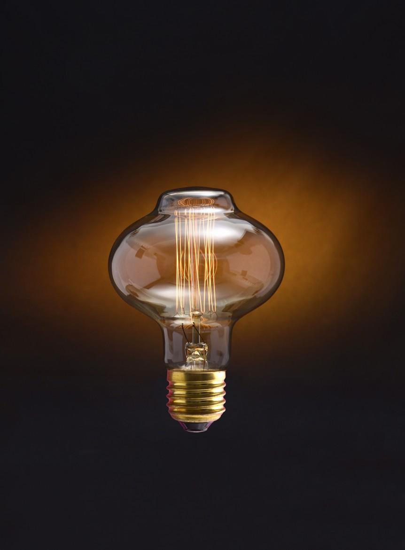 Ampoule vintage Jurssic Lignt BRUCE