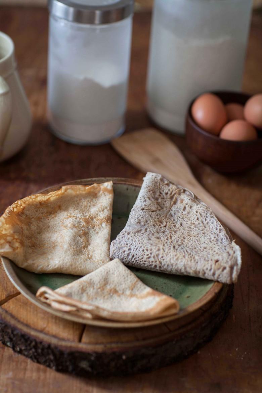 crepes sarrasin ou galettes bretonnes