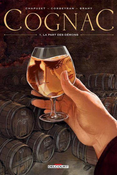 la BD Cognac La part des démons Corbeyran