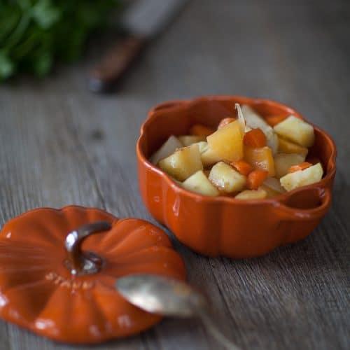 recette de sauté de légumes racines