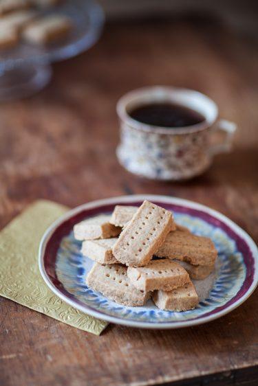 la recette des shortbread biscuit sablé écossais