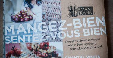 Le livre de Chantal Voets Mangez bien sentez-vous bien