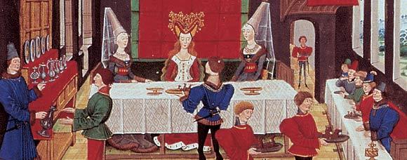 Repas de mariée au Moyen Age