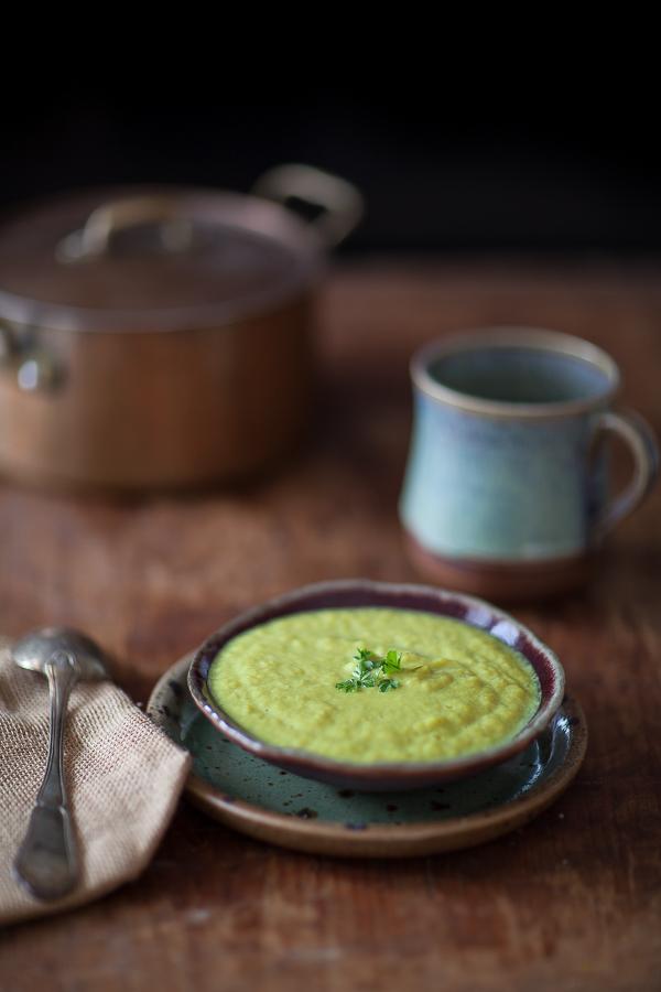 Soupe moyen-âgeuse aux poireaux et curcuma©AnneDemayReverdy01