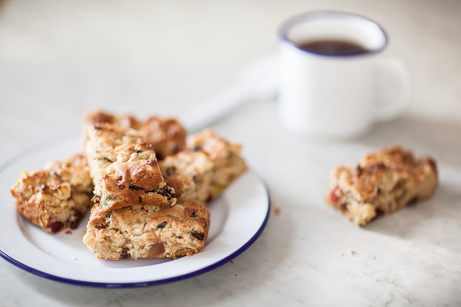 La recette du mincemeat cake ou barre aux fruits confits