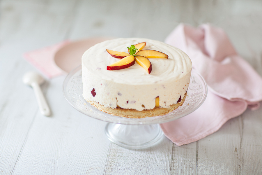 Cheesecake aux nectarines©AnneDemayReverdy01