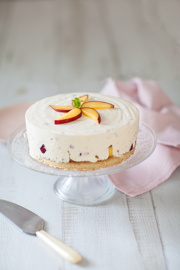 Cheesecake aux nectarines©AnneDemayReverdy02