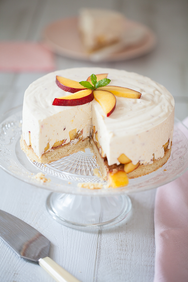 Cheesecake aux nectarines©AnneDemayReverdy04