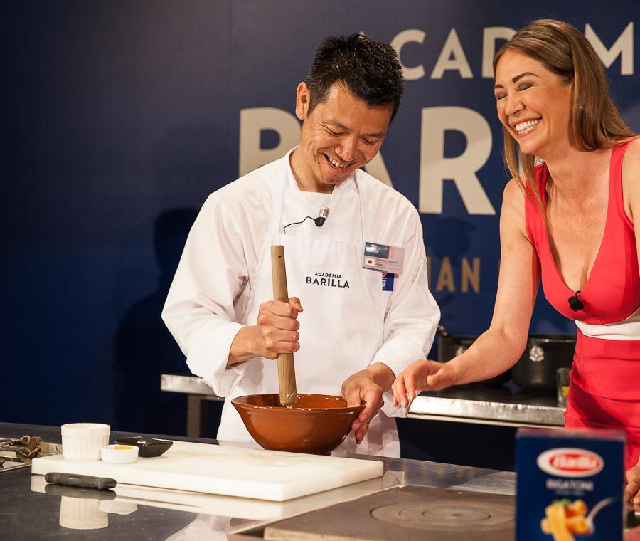 Finale Grands chefs du BPWC 2016 Yoshitaka Miyamoto, un chef plein d'humour