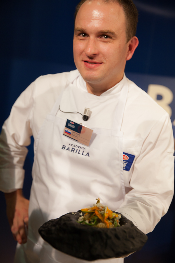 Finale Grands chefs du BPWC 2016 The winner of the BPWC 2016 Jure Tomic
