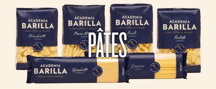 Produits Academia Barilla