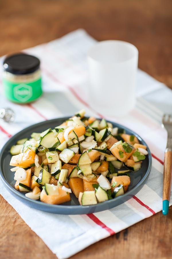Salade concombre Melon au miel Honly©AnneDemayReverdy01