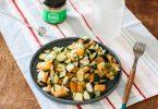 salade de concombre et melon au miel bulpèvre