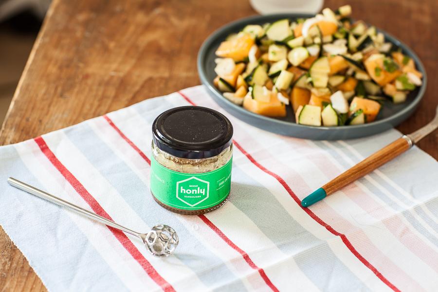 Salade concombre Melon au miel Honly©AnneDemayReverdy03