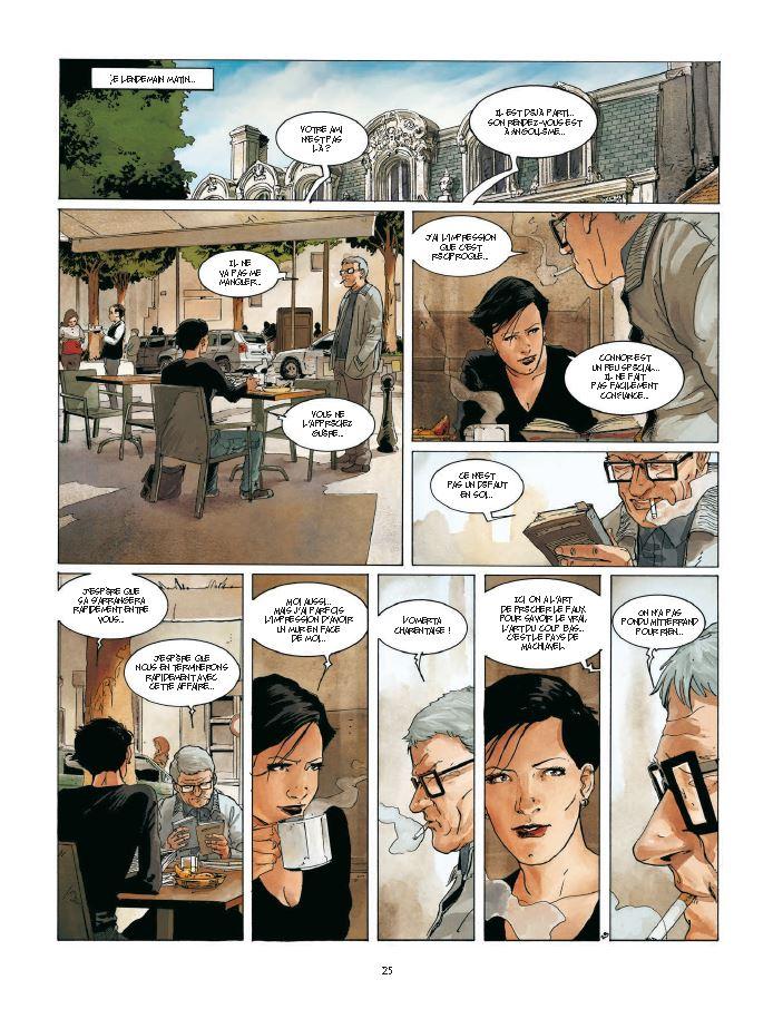 page 25 Cognac 2 Un mort dans l'arène