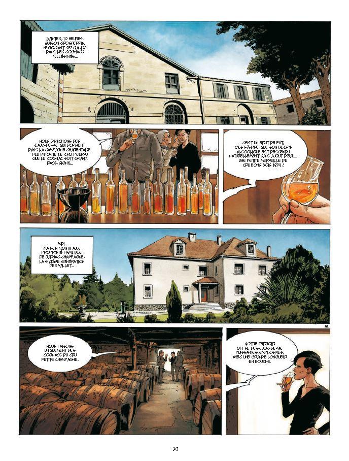page 30 Un mort dans l'arène Cognac 2 Corbeyran