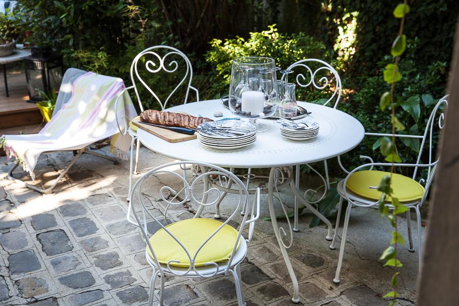 Le jardin en été Table Montmartre©AnneDemayReverdy01