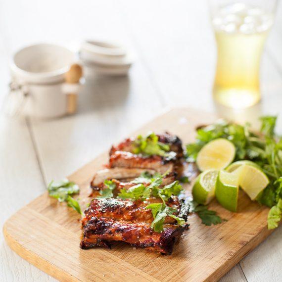 Ribs ou travers de porc aigre-doux au barbecue, ma recette