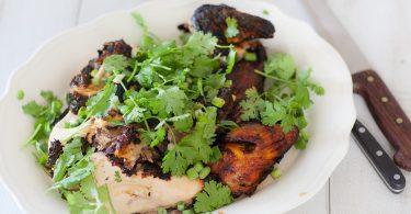 Poulet paprika au barbecue recette de poulet mariné
