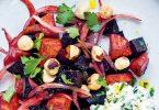 La recette de la salade de betterave et chèvre frais