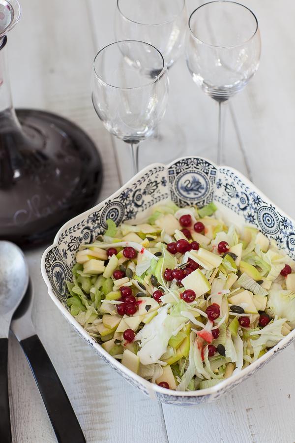 Salade de chou pommes groseilles©AnneDemayReverdy02