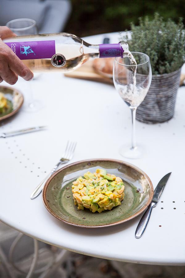 Tartare Ceviche de saumon curcuma orange amère©AnneDemayReverdy01