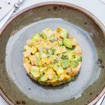 Recette de tartare ceviche au saumon