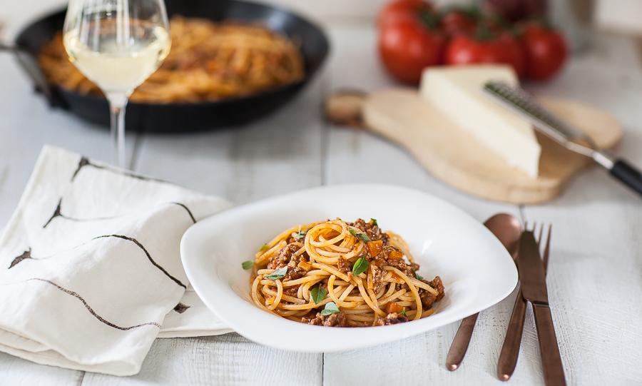 spaghetti à la bolognaise la vraie recette