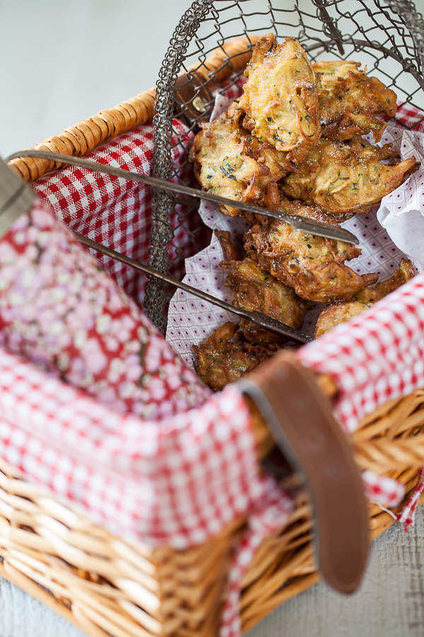 la recette des beignets sucrés de courgette de ma grand-mère