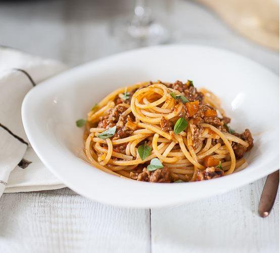Les Spaghetti A La Bolognaise Ou Pasta Al Ragu Ma Vraie Recette