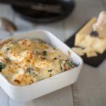 Gratin de chou fleur à la béchamel de petit épeautre et au fromage suisse le Sbrinz