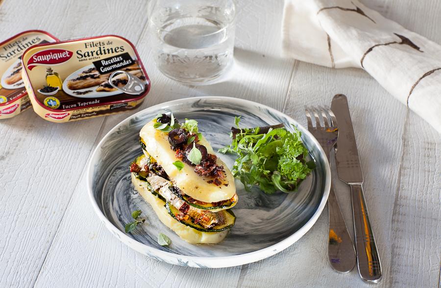 Millefeuille de sardines la tapenade pommes de terre - Cuisiner des filets de sardines fraiches ...
