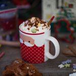 Recette de Chocolat chaud aux épices et à la chantilly caramel