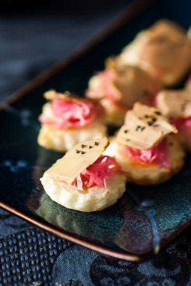 Tartelettees de foie gras©panierdesaison