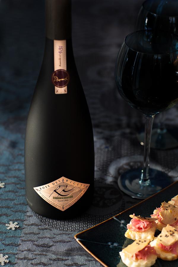 nuit bleue pour no l 2016 tartelettes de foie gras et ros des riceys panier de saison. Black Bedroom Furniture Sets. Home Design Ideas