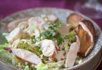 Salade de homard au jasmin recette