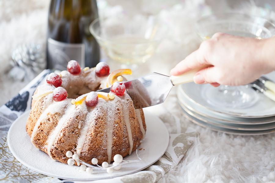 Recette de carrot cake aux épices de Noël