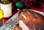 Recette anglaise de jambon laqué au four au miel et aux épices, le glazed ham