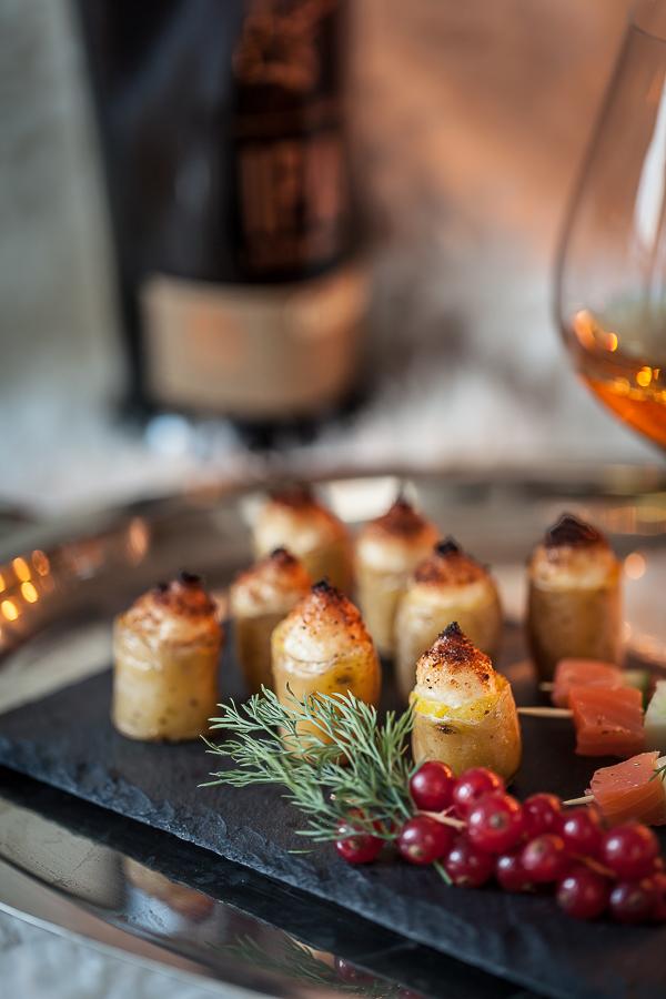 Petites rattes du Touquet farcies à la brandade et gratinées au four, ma recette