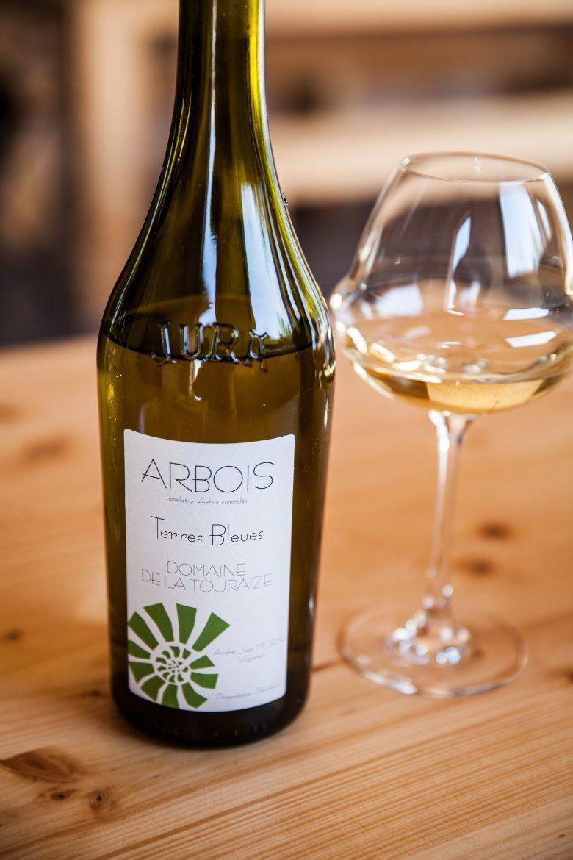 Vin blanc d'Arbois du Domaine de la Touraize, les Terres Bleues