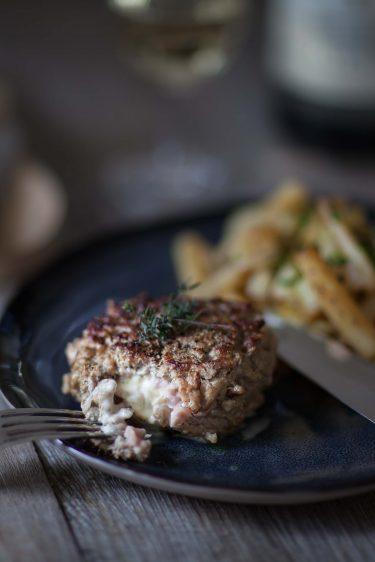 Burger au Brillat-Savarin et salsifis au jus @AnneReverdyDemay-21