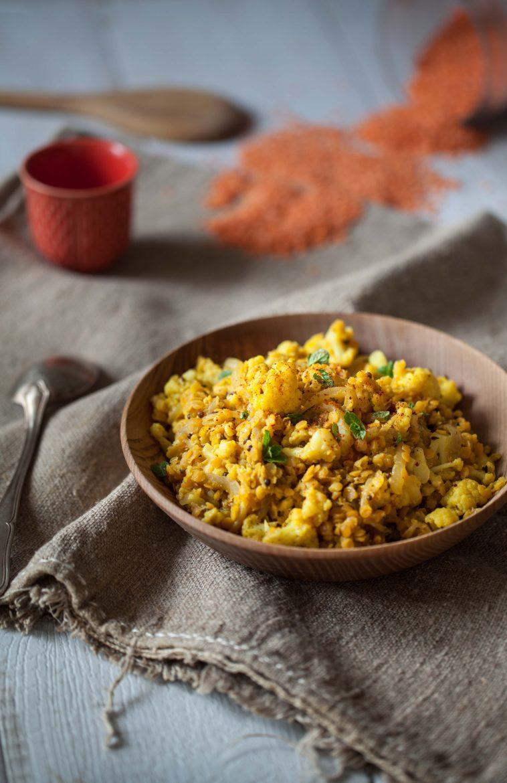 curry de chou-fleur aux lentilles corail recette