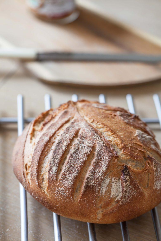 Pain, la recette du pain, boule de pain au levain