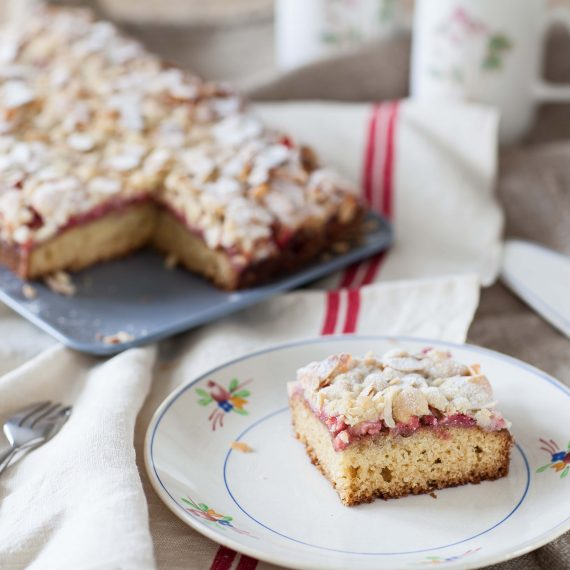 Coffee cake aux fraises, la recette anglaise à la compote de fraises