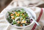 Salade de radis multicolores aux oeufs de truite, la recette