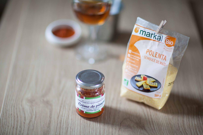 La recette des frites de polenta à abse de polenta merkal bio