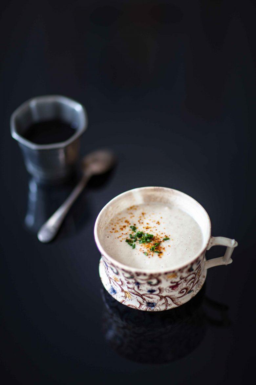 Crème de champignons traditionnelle ©panierdesaison